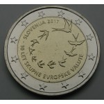 SLOVENIJA  2€ 2017 - 10. obletnica Evra