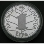 SLOVENIJA 1 Lipa 1990
