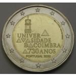 PORTUGALSKA 2€ 2020 -  730. obletnica Univerze v Coimbri