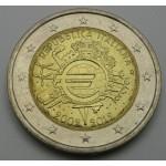 ITALIJA 2€ 2012 10 LET EVRO GOTOVINE