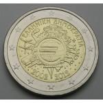 GRČIJA 2€ 2012 10 LET EVRO GOTOVINE
