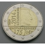 LUKSEMBURG 2€ 2014