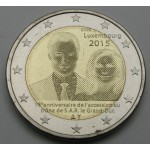 LUKSEMBURG 2€ 2015 - 15. anniversary of Henri's Accession to the Throne