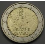 LUKSEMBURG 2€ 2018 - Grand Duke Guillaume I.