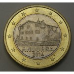 ANDORRA 1 € 2014
