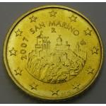 SAN MARINO  50 Centov 2007