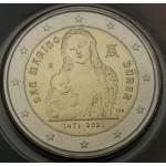 SAN MARINO 2€ 2021 - 550. obletnica rojstva Albrechta Dürerja