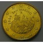 SAN MARINO  50 Centov 2006