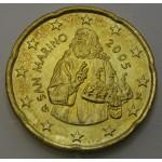 SAN MARINO  20 Centov 2005