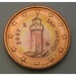 SAN MARINO 1 Cent 2007