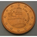 SAN MARINO 5 Centov 2006