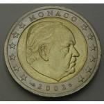 MONAKO 2€ 2002