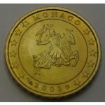 MONAKO 10 Centov 2002