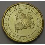 MONAKO 20 Centov 2002