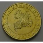 MONAKO 50 Centov 2002
