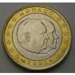 MONAKO 1€ 2002