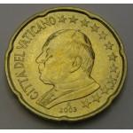 VATIKAN 20 Centov 2003
