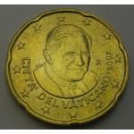 VATIKAN 20 Centov 2007