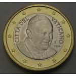 VATIKAN 1€ 2014