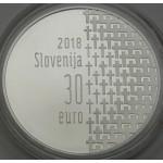 SLOVENIJA 30€ 2018 - 100. obletnica konca 1. svetovne vojne