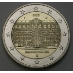 NEMČIJA 2€ 2020 - Brandenburg  - (A,D,F,G,J)