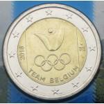 BELGIJA 2€ 2016 - Olimpijske igre -  Rio de Janeiro 2018