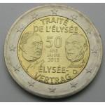 NEMČIJA 2€ 2013 ELYSEE (A,D,F,G,J)