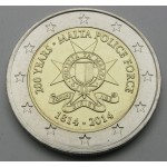 MALTA 2€ 2014 - Police Force