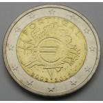 POTRUGALSKA 2€ 2012 10 LET EVRO GOTOVINE