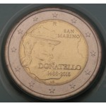 SAN MARINO 2€ 2016 - 550th anniversary of the death of Donatello.