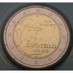 SAN MARINO 2€ 2016 - 550th anniversary of the death of Donatello.
