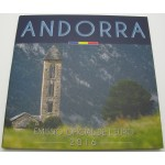 ANDORRA SET (1 Cent - 2€) 2016