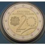 ANDORRA 2€ 2014 (2016) - Council of Europe