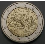 LITVA 2€ 2021 - Biosferni rezervat Žuvintas