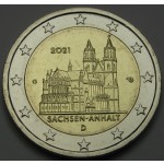 NEMČIJA 2€ 2021 - Magdeburg - (A,D,F,G,J)