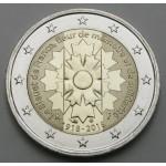 FRANCIJA 2€ 2018 - Centenary of the end of World War I