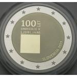 SLOVENIJA 2€ 2019 PROOF - 100. obletnica ustanovitve Univerze v Ljubljani