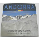 ANDORRA SET (1 Cent - 2€) 2014