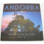 ANDORRA SET (1 Cent - 2€) 2015