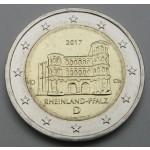 NEMČIJA 2€ 2017 - Rheinland-Pfalz - Porta Nigra - (A,D,F,G,J )
