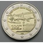MALTA 2€ 2015 - 100 let od prvega poleta