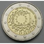 FRANCIJA 2€ 2015 - 30. obletnica zastave Evropske unije