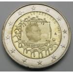 LUKSEMBURG 2€ 2015 - 30. obletnica zastave Evropske unije