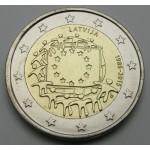 LATVIJA 2€ 2015 - 30. obletnica zastave Evropske unije
