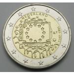 NIZOZEMSKA 2€ 2015 - 30. obletnica zastave Evropske unije