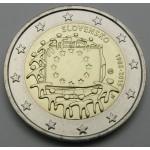 SLOVAŠKA 2€ 2015 - 30. obletnica zastave Evropske unije