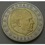 MONAKO 2€ 2001