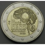 SLOVAŠKA 2€ 2020 -  20. obletnica pristopa k OECD
