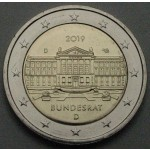 NEMČIJA 2€ 2019 - Bundesrat - (A,D,F,G,J