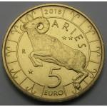 SAN MARINO 5€ 2018 - Zodiac - Aries